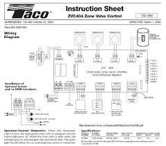 taco zone valves wiring diagram gooddy org