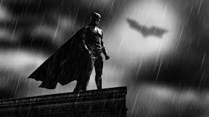 bat computer background batman rooftops rain bat signal messenjahmatt people