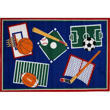 Sports Area Rug Indoor Sports Area Rugs You Ll Wayfair
