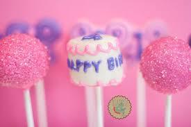birthday cake pops lottie and lil birthday pops