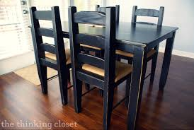 Black Dining Room Table Set - Black kitchen table