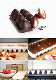 Chocolate Covered Strawberries Tutorial Maiko Nagao Diy Chocolate Covered Strawberries With Ice Cube Tray