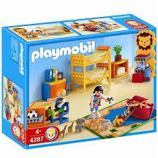 playmobil chambre b playmobil 4287 chambre des enfants achat vente univers miniature