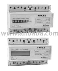 3 phase din rail electronic digital kwh meter buy thera kwh