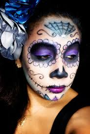 Halloween Makeup Ideas For Guys by Best 20 Sugar Skull Makeup Tutorial Ideas On Pinterest Sugar