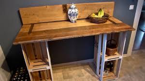 Wohnzimmertisch Obstkiste Tisch Selber Bauen Aus Einer Tür Und Weinkisten Youtube