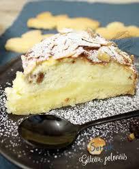 recette cuisine polonaise le sernik le gâteau au fromage blanc polonais il était une