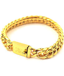yellow gold cuban link bracelet images The gold gods gold cuban link bracelet zumiez jpg