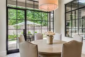 nailhead dining chairs design ideas