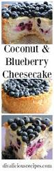 Tyler Florence Cheesecake Recipe by Coconut U0026 Blueberry Cheesecake Recipe Low Carb Flour