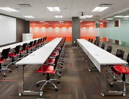 Modern Conference Room Design by State Of The Art Training Center Design By Mercedes Farrando