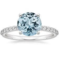 Aquamarine Wedding Rings by Aquamarine Engagement Rings Brilliant Earth