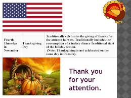 thanksgiving day ppt
