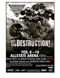 monster truck jam chicago monster jam is coming back to allstate arena chimonsterjam