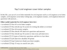 ideas collection cover letter civil engineering with additional
