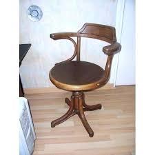 chaise de bureau en bois à fauteuil de bureau bois merveilleux chaise bureau bois fantaisie de