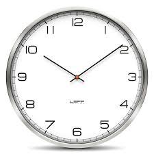 Steel Wall Clocks Modern Clocks Designer Wall Clock Numbers - Modern designer wall clocks