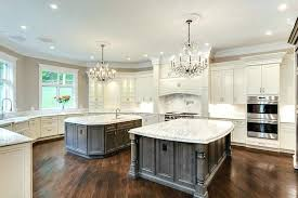 marble kitchen islands marble kitchen island luxury kitchen with two islands chandeliers