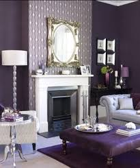 Purple Living Room Furniture Decorating With Purple Real Simple