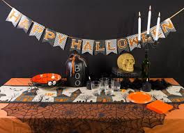 halloween table black and white halloween table 1 002 childrens