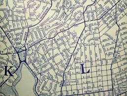 Oakland Map Oakland Ca 1939 Map By Rand Mcnally Map Is Glued To The I U2026 Flickr