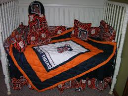 Detroit Tigers Crib Bedding Crib Bedding Set M W Detroit Tigers Fabric By Cutiepatootiebedding