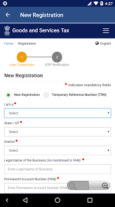 gst online registration status check android apps on google play