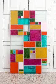 running into a glass door diy faux stained glass u2013 a beautiful mess