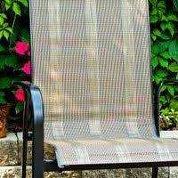 Patio Chair Mesh Replacement Replacing Fabric In Sling Back U0026 Director U0027s Chairs Patios
