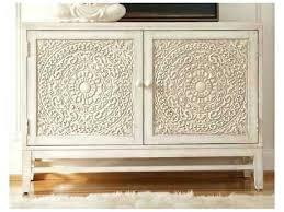 buffet server sideboard hooker furniture melange white cream beige