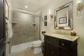 beveled mirror bathroom bathroom contemporary with bathroom