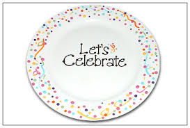celebrate make your own simple you are special plate