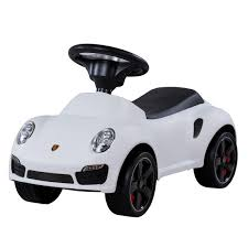 white porsche 911 porsche 911 push ride on car white