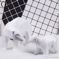 home decoration online ornament craft resin polar bear figurine gift home decoration gift
