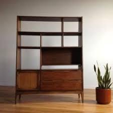 Room Divider Shelf by Alternating Shelves Design Room Divider White Finish Wood Modern