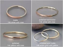 wedding ring with two bands women s two tone wedding band by shirlee grund jewelry