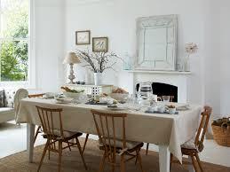 farmhouse style table cloth dining room table with tablecloth dining room ideas