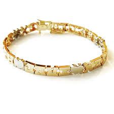 Name Braclets 14k Gold Family Name Bracelet Letters With Heart Separators