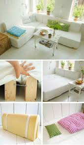 Cheap Sofa Cushions by Best 25 Bed Couch Ideas On Pinterest Bed Table Diy Living Room