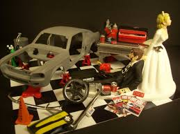 cool cake toppers classic car restoration professional hobbyist wedding cake