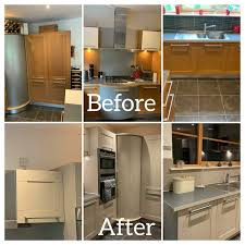spray painting kitchen cabinets scotland respray your kitchen furniture home