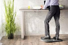 advantages of standing desk 4 benefits of using a balance board with a standing desk gaiam
