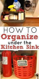 best 25 organize under sink ideas on pinterest under kitchen