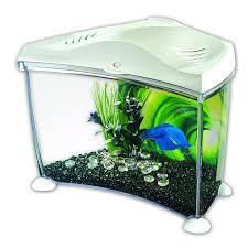 marina 7l betta tank white pets at home