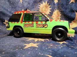 jurassic park jungle explorer vtg 1993 jurassic park jungle explorer vehicle truck toy rare used