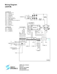 servo motor wiring diagram servo wiring diagrams instruction