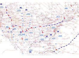 Georgia Map Usa by Meteorology 101 Weather Fronts