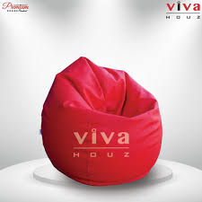 Red Leather Bean Bag Chair Home Furniture Supplier Selangor Malaysia Office Furniture