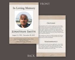 templates for funeral program funeral program template 5x7 funeral card template