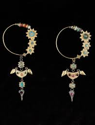 gujarati earrings 196 best ethnic south asia earrings images on asia